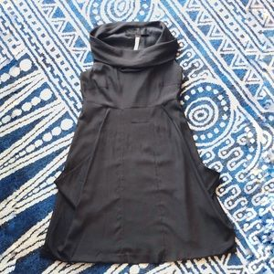 Kensie Black Drape Dress